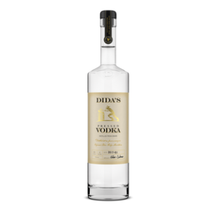 Bottle of Dida's Vodka